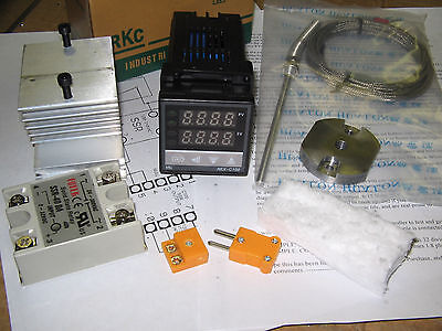 Kiln/oven Pid Temperature Controller Kit/!!!ssr Output!!!,,