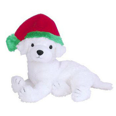 TY Beanie Baby - TINSEL the Dog (BBOM December 2003) (6.5 inch) - MWMTs