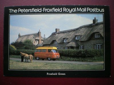Postcard Royal Mail Petersfield - Froxfield Royal Mail Postbus At Froxfield Gree