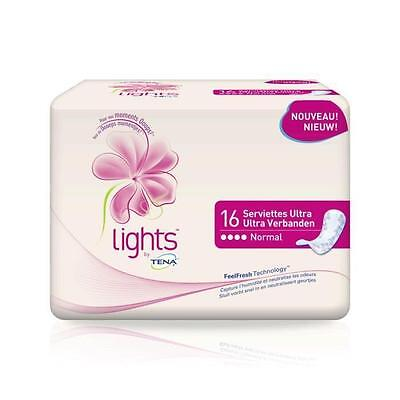 TENA Serviettes hygieniques Light Normal x16