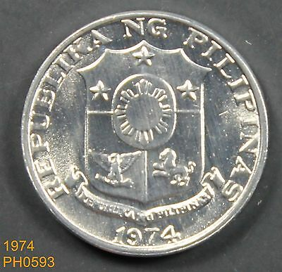 PHILIPPINES Sentimo 1974 uncirculated FREE SHIPPING
