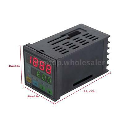 90-260V AC/DC Digital LED Timer Countdown Time Counter for Industrial Use Tool