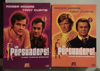 THE PERSUADERS complete series  set 1 set 2    DVD LOT