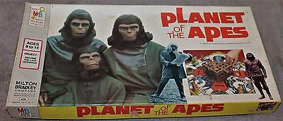 Vintage Milton Bradley Planet Of The Apes Board Game 1974