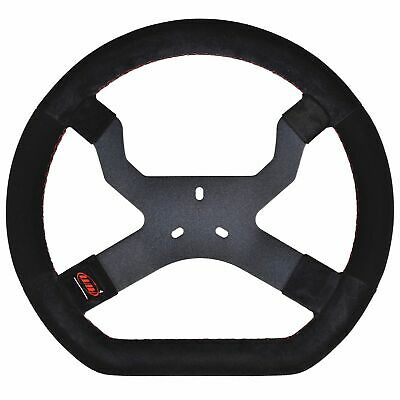 AIM Motorsport MyChron5 Kart / Race Steering Wheel In Black - 3 Hole