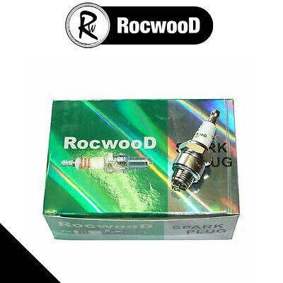 10 x Rocwood Copper Core Spark Plug Fits Briggs And Stratton Replaces B2LM