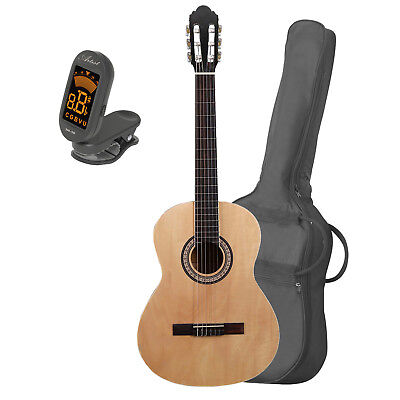 Artist CB4 Full Size Classical Nylon String Guitar + Bag and Tuner - New