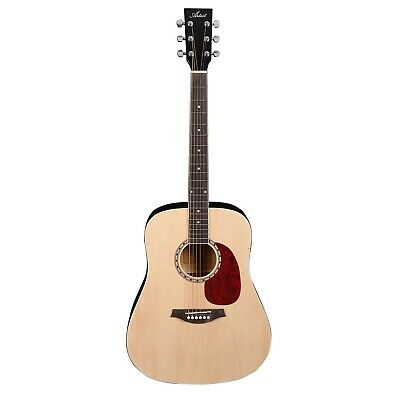 Artist AB1 41 inch Acoustic Guitar Steel String - Natural - New