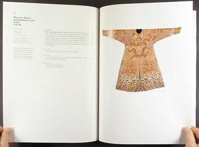 Antique Ch'ing Dynasty Chinese Silk - Minneapolis Institute of Arts Catalog