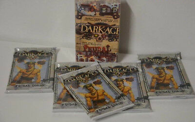 Dark Age Feudal Lords Starter Set +  5x Booster Pack in OVP #