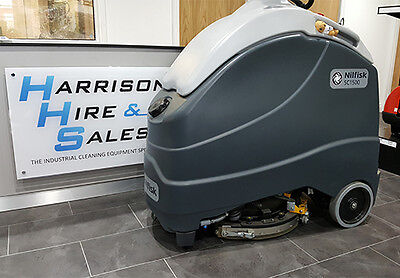 Nilfisk SC1500 51D Stand On Scrubber Dryer- Ex demonstration