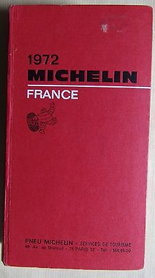 #) guide MICHELIN rouge FRANCE 1972