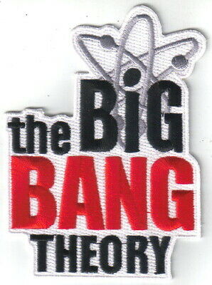 The Big Bang Theory TV Series Logo Embroidered Patch, NEW UNUSED