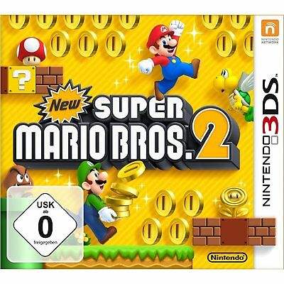 NEW SUPER MARIO BROS.2 Nintendo 3DS NUOVO + conf. orig.