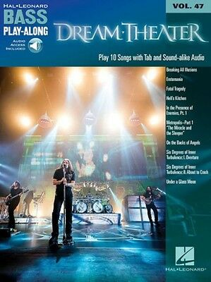 Dream Theater: Bass Play-Along Volume 47 With PLAYBACK+ (Hal Leonard Bass Play-.