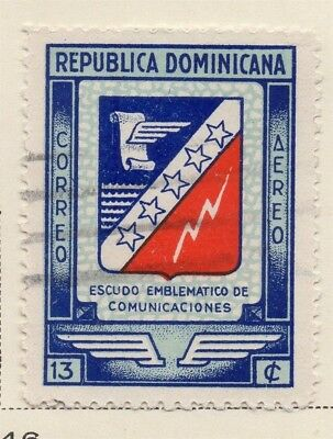 Dominican Republic 1945 Early Issue Fine Used 13c. 168453