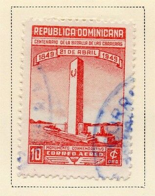 Dominican Republic 1949 Early Issue Fine Used 10c. 168460