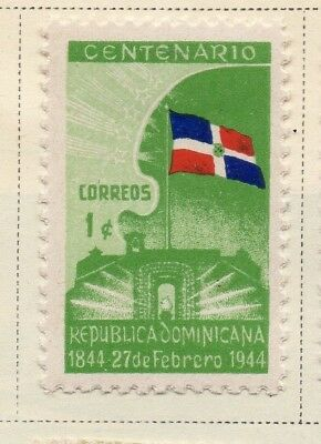 Dominican Republic 1944-45 Early Issue Fine Mint Hinged 1c. 168502