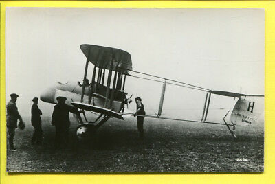 WWI British Airco DH.1 Pusher Biplane Photo by Real Photographs Co. Ltd