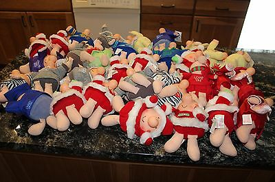 Lot of 33 Ziggy Plush Dolls - Christmas, Easter, Halloween, Graduation
