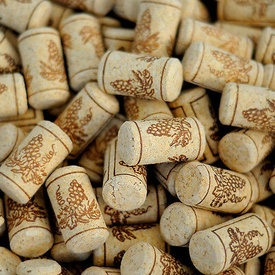 HOT 100 Pcs 22x44mm Natural Wine Corks Bottle Quality Stoppers Corks Crafts