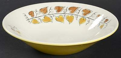 Iroquois HEARTS OF GOLD Soup Bowl 268923