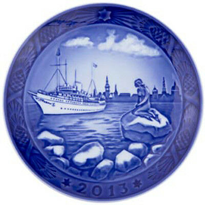 NEW IN BOX! 2013 Royal Copenhagen Christmas Plate Factory First Quality DENMARK