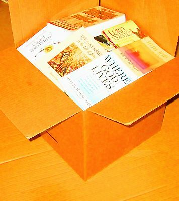 JUMBO Box Christian/Religion/God/Prayer/Faith/Church 50+ pounds -SC & HC