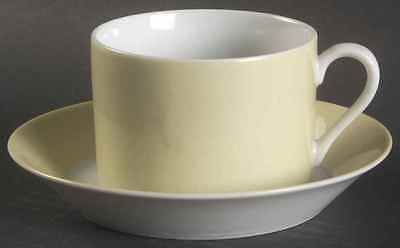 Fitz & Floyd LA RONDE YELLOW Cup & Saucer 127830