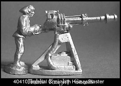 West End Star Wars Minis Imperial Crew with Heavy Blaster Pack MINT