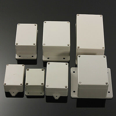 Waterproof Electronics Project Box Enclosure Hobby Case Screw Ip66 Abs Plastic