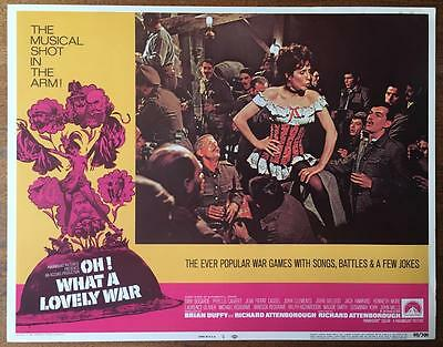 With Wendy Allnutt Farrell McFee Oh! What a Lovely War 1969 #5 lobby card 1345