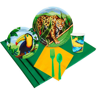 Jungle Party 24 Guest Party Pack