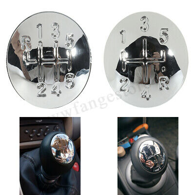 5 6 Speed Gear Shift Knob Cap Cover Insert For Renault Clio Megane Scenic Twingo