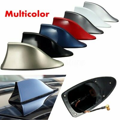 Roof Style Shark Fin Antenna Radio Signal AM FM Aerials For Vauxhall Corsa Audi