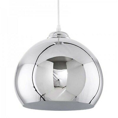 Paris Prix - Lampe Suspension Victoria Chrome
