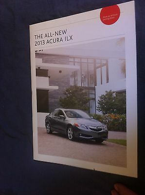 2013 Honda Acura ILX Sedan USA Market Color Brochure Catalog Prospekt