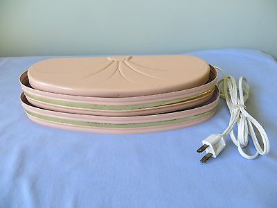 Vintage Pink Metal Bed Reading Wall Mount Lamp
