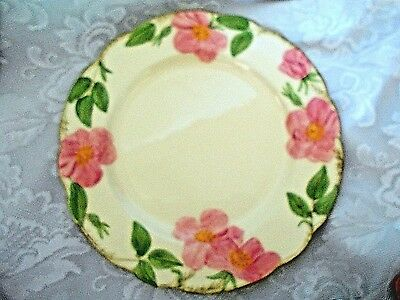 Vintage Mid-Century FRANCISCAN Desert Rose Hand Painted Plate - Made in U.S.A.