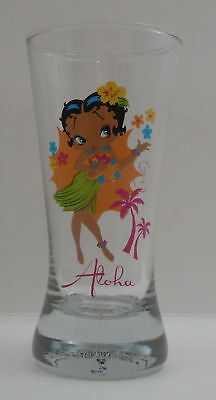 Betty Boop Hula Skirt Aloha Flared Shooter Shot Glass