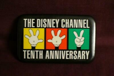 Disney Channel Tenth Anniversary Button