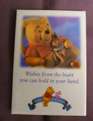 Pooh & Friends Wishes From the Heart Disney Button