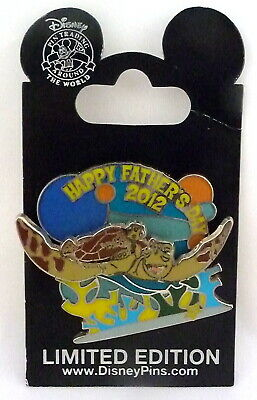 Disney Happy Father's Day 2012 Finding Nemo Crush & Squirt LE Pin