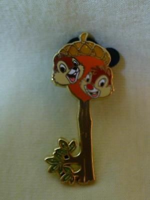 Walt Disney World 2009 Museum of Pin-Tiquities Chip & Dale Key LE Pin