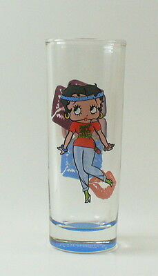 Betty Boop 80's Style Shot Glass Tall Shooter