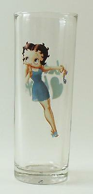 Betty Boop Blue Dress Shot Glass Tall Shooter