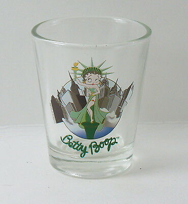 Betty Boop NY Statue of Liberty Shot Glass