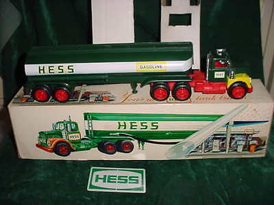 1968 Rare Marx Christmas Collectible  Hess Trucks 1968 Toy Tanker Truck Toy