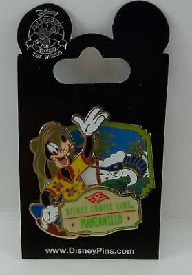 Disney Cruise Line Manzanillo Goofy Pin