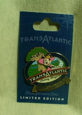 Disney Cruise Line Transatlantic Cruise August 2007 Minnie Mouse LE Pin